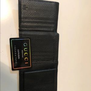 Gently used Gucci wallet
